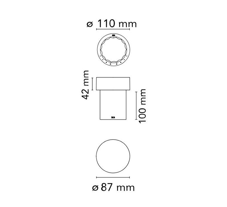 Last order michael anastassiades baladeuse d exterieur outdoor portable lamp  flos f03693056  design signed nedgis 99692 product