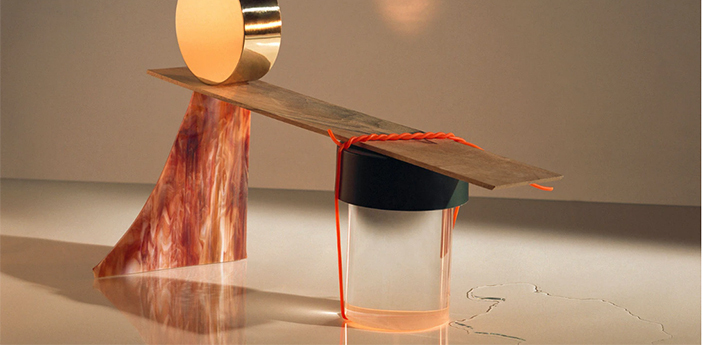 Baladeuse d exterieur last order transparent lisse et vert matt ip55 led 2700k 200lm o11cm h14 2cm flos normal