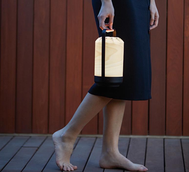 Mini chou yonoh creative studio baladeuse d exterieur outdoor portable lamp  lzf chou mpa 20  design signed nedgis 71183 product