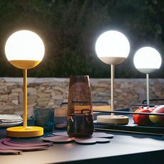 Moon tristan lohner baladeuse d exterieur outdoor portable lamp  fermob 5301 vert  design signed 44962 thumb