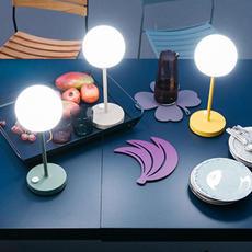Moon tristan lohner baladeuse d exterieur outdoor portable lamp  fermob 5301 vert  design signed 55795 thumb