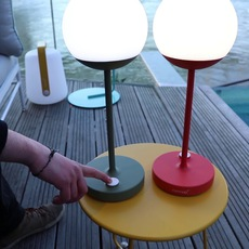 Moon tristan lohner baladeuse d exterieur outdoor portable lamp  fermob 5301 vert  design signed 55796 thumb