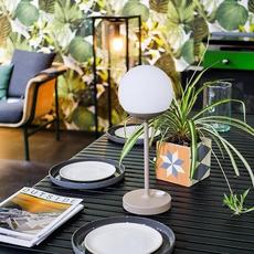 Moon tristan lohner baladeuse d exterieur outdoor portable lamp  fermob 5301 gris  design signed 55802 thumb