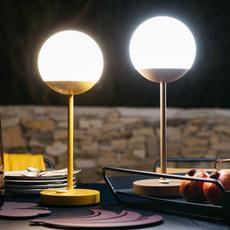 Moon tristan lohner baladeuse d exterieur outdoor portable lamp  fermob 5301 jaune  design signed 44969 thumb