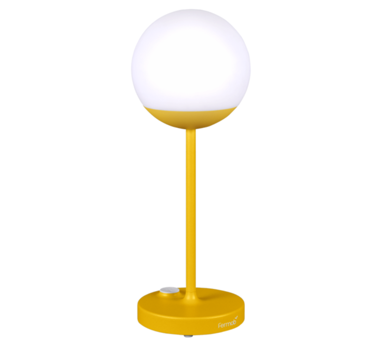 Moon tristan lohner baladeuse d exterieur outdoor portable lamp  fermob 5301 jaune  design signed 44970 product