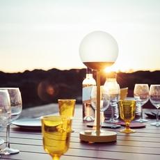 Moon tristan lohner baladeuse d exterieur outdoor portable lamp  fermob 5301 jaune  design signed 53845 thumb