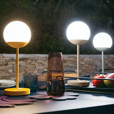 Moon tristan lohner baladeuse d exterieur outdoor portable lamp  fermob 5301 marron  design signed 44965 thumb