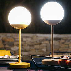Moon tristan lohner baladeuse d exterieur outdoor portable lamp  fermob 5301 marron  design signed 44966 thumb