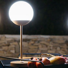 Moon tristan lohner baladeuse d exterieur outdoor portable lamp  fermob 5301 marron  design signed 55799 thumb
