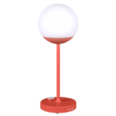 Moon tristan lohner baladeuse d exterieur outdoor portable lamp  fermob 5301 rouge  design signed 44972 thumb