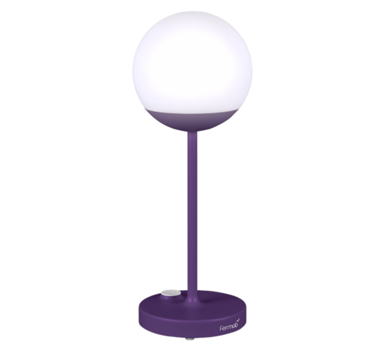 Moon tristan lohner baladeuse d exterieur outdoor portable lamp  fermob 5301 violet  design signed 44974 product