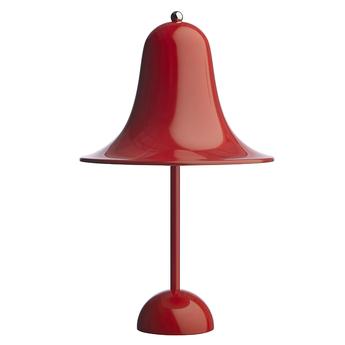 Baladeuse d exterieur pantop 23 rouge ip44 o18cm h30cm verpan normal
