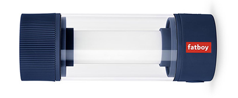Baladeuse d exterieur tjoepke gris bleu ip44 led 2700k a 5001k 150lm o6cm h16 8cm fatboy normal