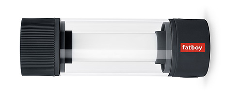 Baladeuse d exterieur tjoepke noir ip44 led 2700k a 5000k 150lm o6cm h16 8cm fatboy normal