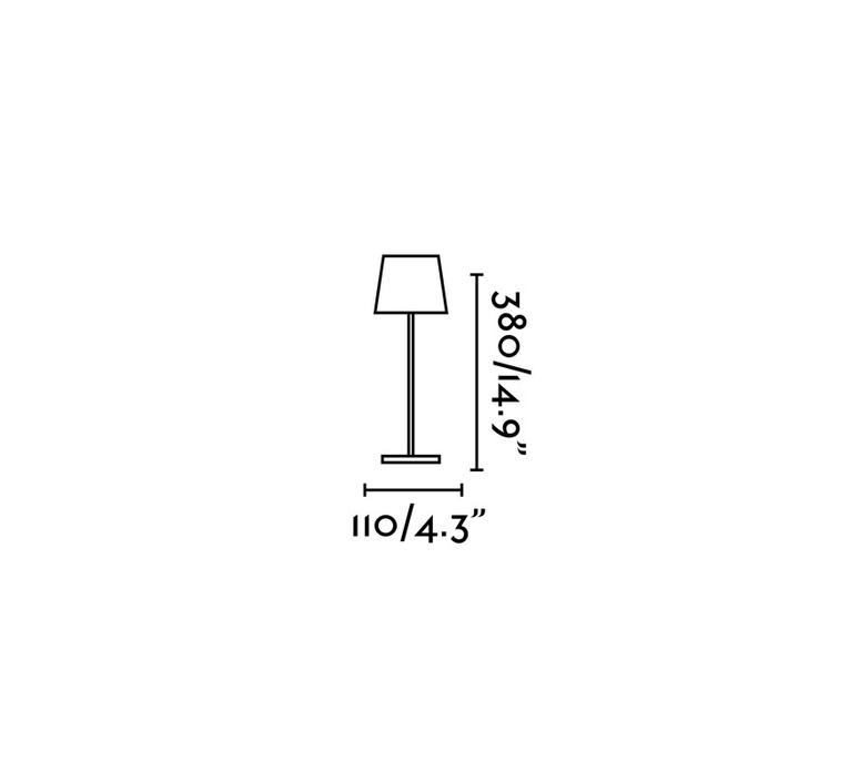 Toc estudi ribaudi baladeuse d exterieur outdoor portable lamp  faro 70775  design signed nedgis 106035 product