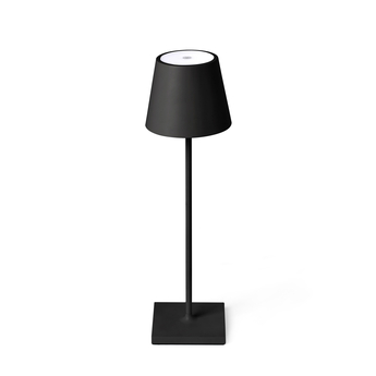 Baladeuse d exterieur toc noir ip54 led 3000k 150lm o11cm h38cm faro normal