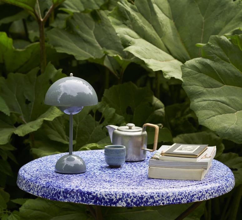 Flowerpot vp9 verner panton baladeuse portable lamp  andtradition 20755401  design signed nedgis 122836 product