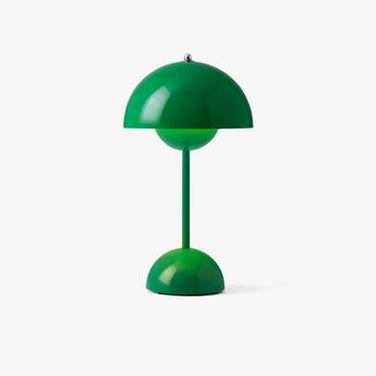 Baladeuse flowerpot vp9 vert signal ip44 o16cm h29 5cm andtradition normal