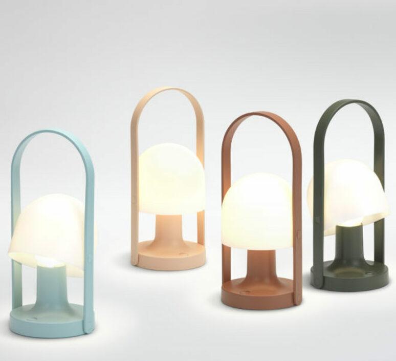 Follow me inma bermudez baladeuse portable lamp  marset a657 021  design signed nedgis 85009 product