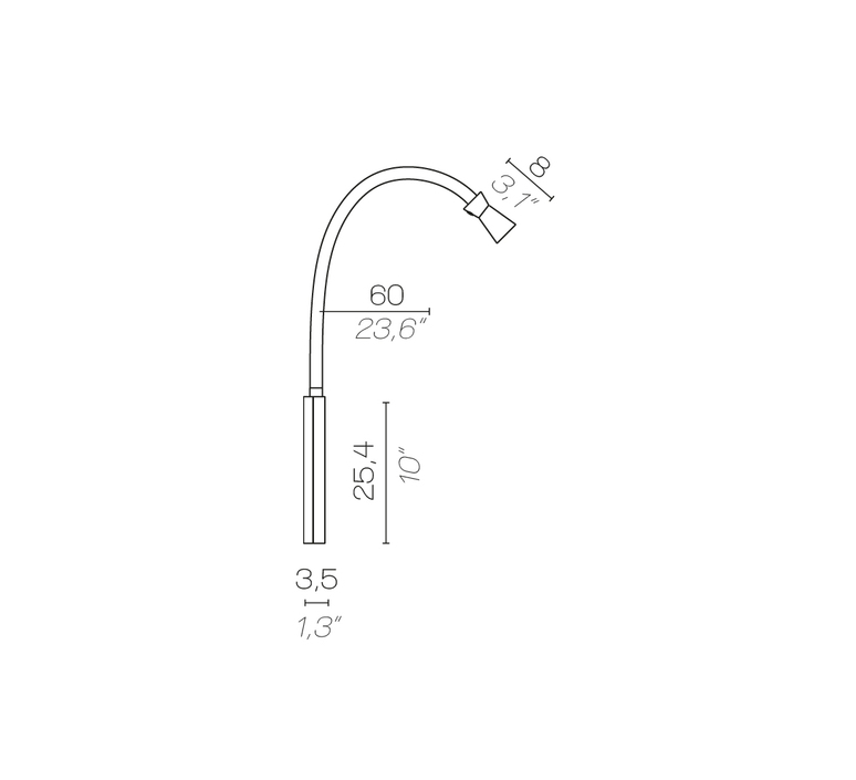 G t batterie king and roselli baladeuse portable lamp  contardi acam 002483  design signed nedgis 88018 product