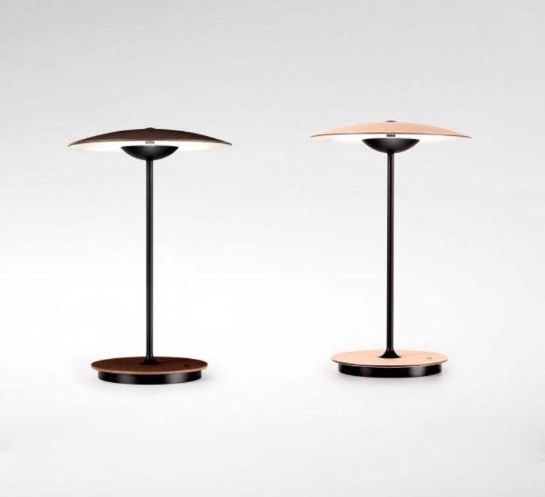 negro and faro led black satinado en lampara lamp oro gold y portatil portable hoshi satin productos