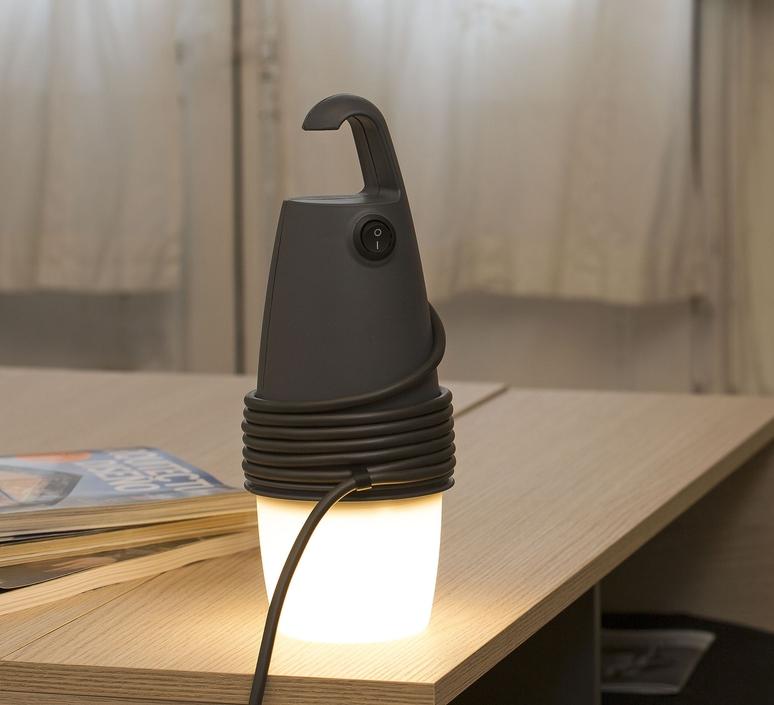 Hook oiko design office baladeuse portable lamp  faro 28369  design signed 33307 product