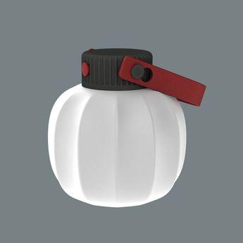 Baladeuse kiki blanc led o14 5cm h16cm martinelli luce normal