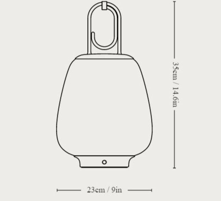Lucca sc51 space copenhagen baladeuse portable lamp  andtradition 83482001  design signed nedgis 82479 product