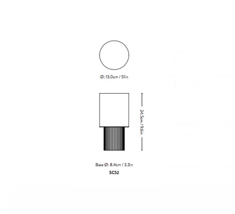 Manhattan sc52 space copenhagen baladeuse portable lamp  andtradition 83529529  design signed nedgis 92988 product