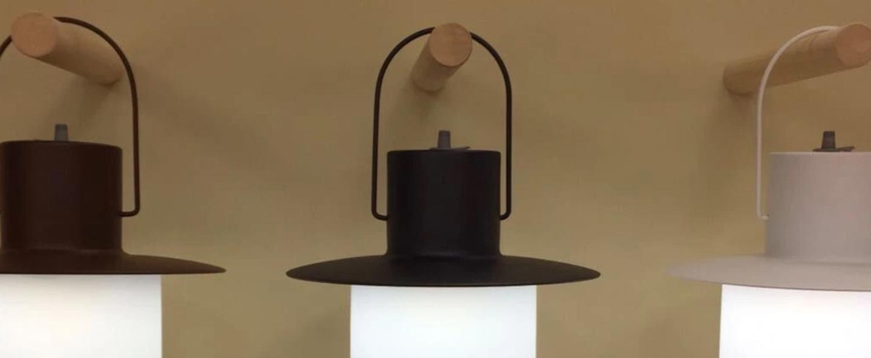 Baladeuse nautic corten ip45 led 2700k 105lm o25cm h29cm alma light normal