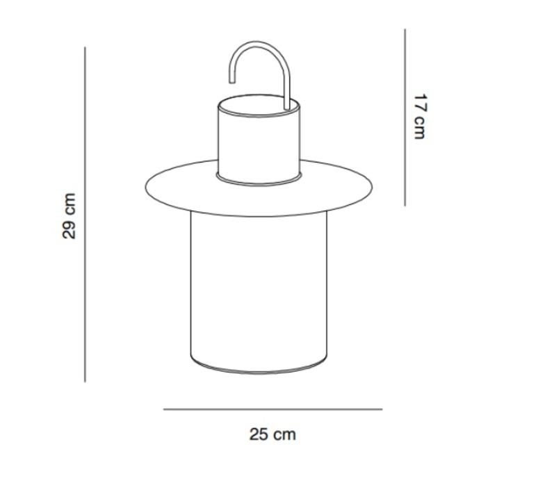Nautic josep novell ernest perera baladeuse portable lamp  alma light 5210 012  design signed nedgis 116345 product