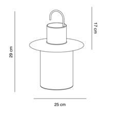 Nautic josep novell ernest perera baladeuse portable lamp  alma light 5210 012  design signed nedgis 116345 thumb