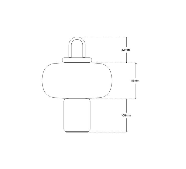 Nox alfredo haberli baladeuse portable lamp  astep a02 t12 000g a02 a01 000g  design signed nedgis 79197 product