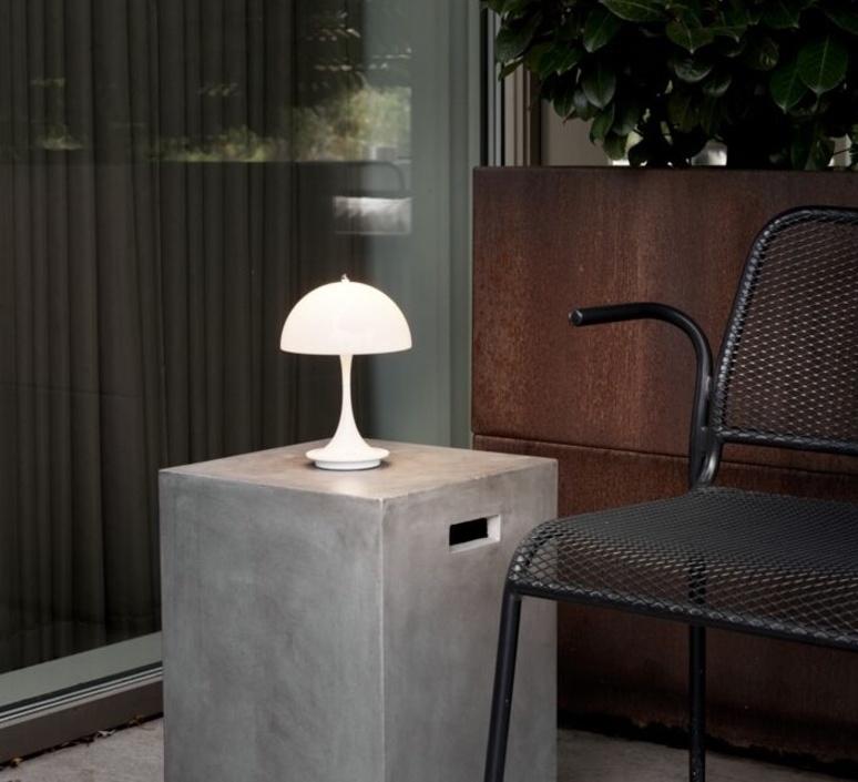 Panthella baladeuse verner panton baladeuse portable lamp  louis poulsen 5744166661  design signed nedgis 107297 product