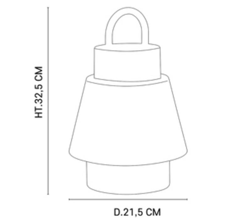 Singapour market set studio baladeuse portable lamp  market set 655891  design signed nedgis 110797 product