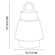 Singapour market set studio baladeuse portable lamp  market set 655890  design signed nedgis 110793 thumb