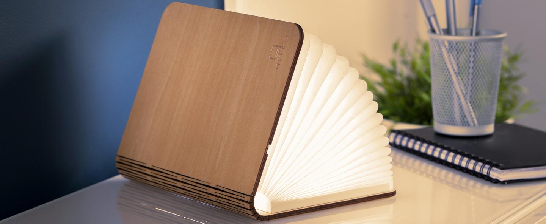 Baladeuse smart book large bois d erable l17cm h21 5cm gingko normal