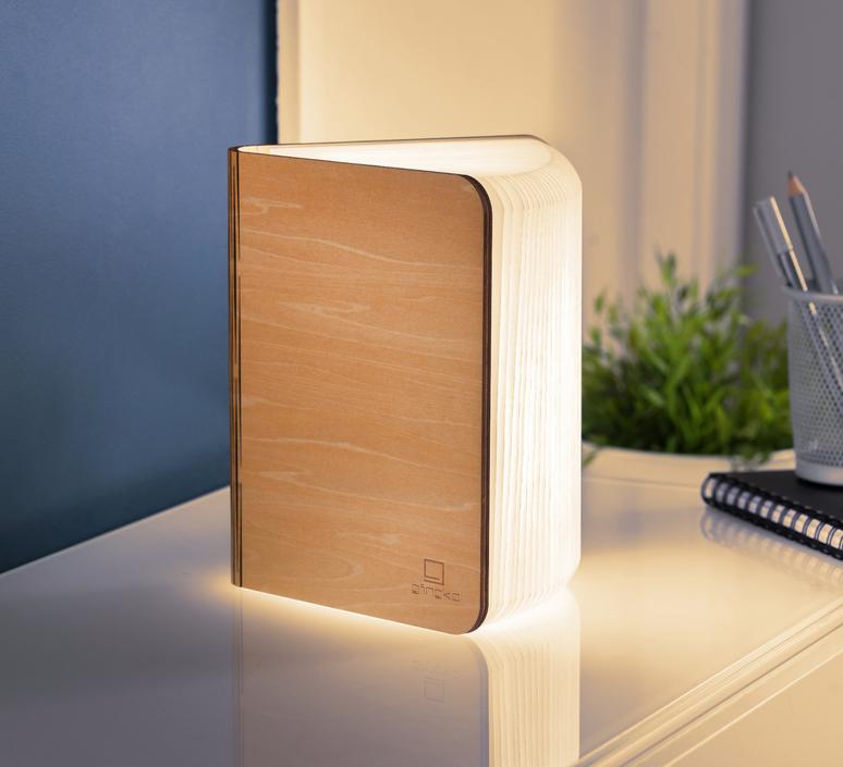 Smart book large studio gingko baladeuse portable lamp  gingko gk12w2  design signed nedgis 96764 product