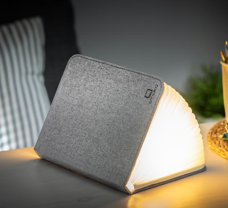 Smart book large studio gingko baladeuse portable lamp  gingko gk12f gy1  design signed nedgis 96700 product