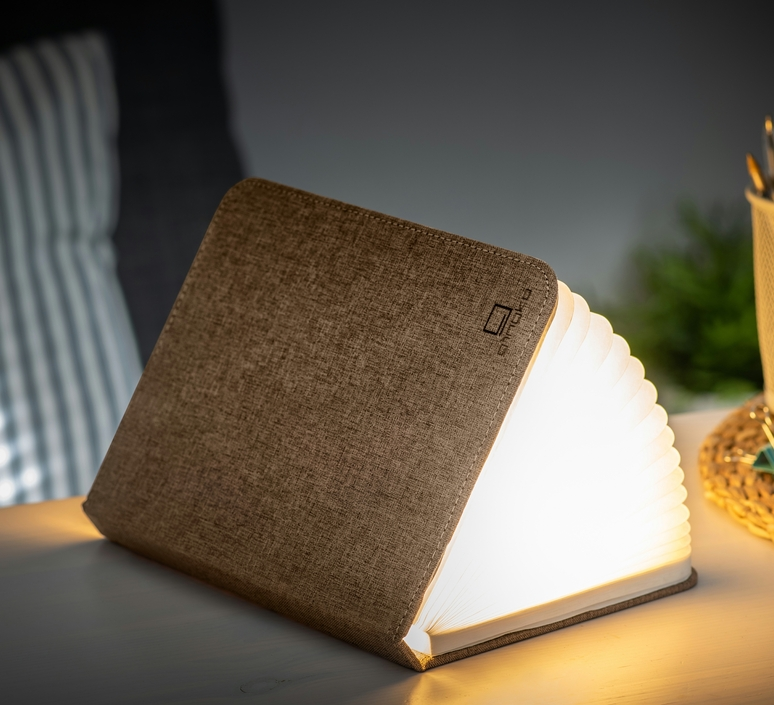Smart book large studio gingko baladeuse portable lamp  gingko g012f bn1  design signed nedgis 96713 product
