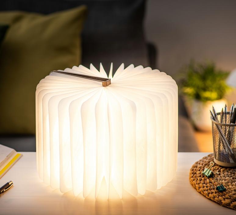Smart book large studio gingko baladeuse portable lamp  gingko g012f bn1  design signed nedgis 96716 product