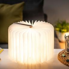 Smart book large studio gingko baladeuse portable lamp  gingko g012f bn1  design signed nedgis 96716 thumb