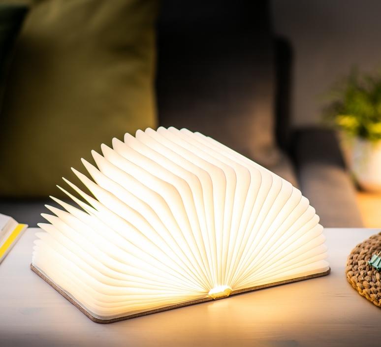 Smart book large studio gingko baladeuse portable lamp  gingko g012f bn1  design signed nedgis 96717 product