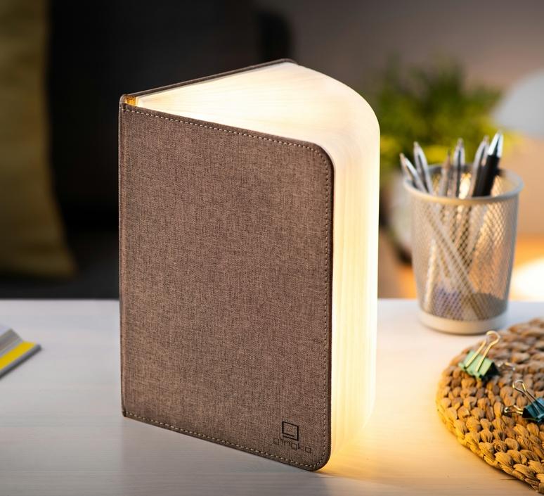 Smart book large studio gingko baladeuse portable lamp  gingko g012f bn1  design signed nedgis 96718 product