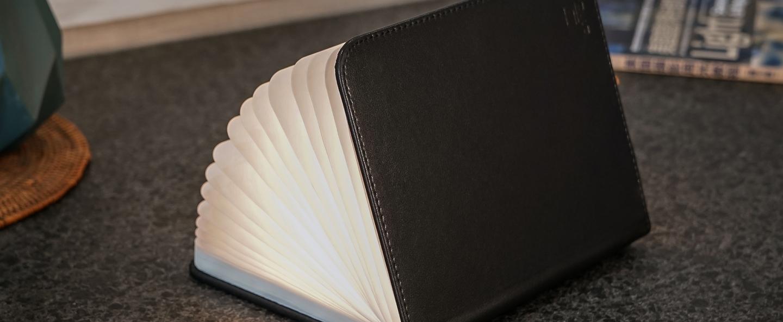 Baladeuse smart book large noir l17cm h21 5cm gingko normal