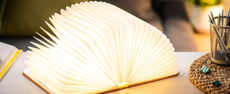 Baladeuse smart book large orange l17cm h21 5cm gingko normal