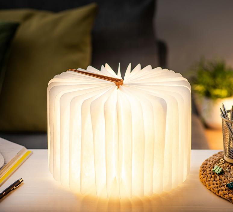 Smart book large studio gingko baladeuse portable lamp  gingko gk12f oe1  design signed nedgis 96709 product
