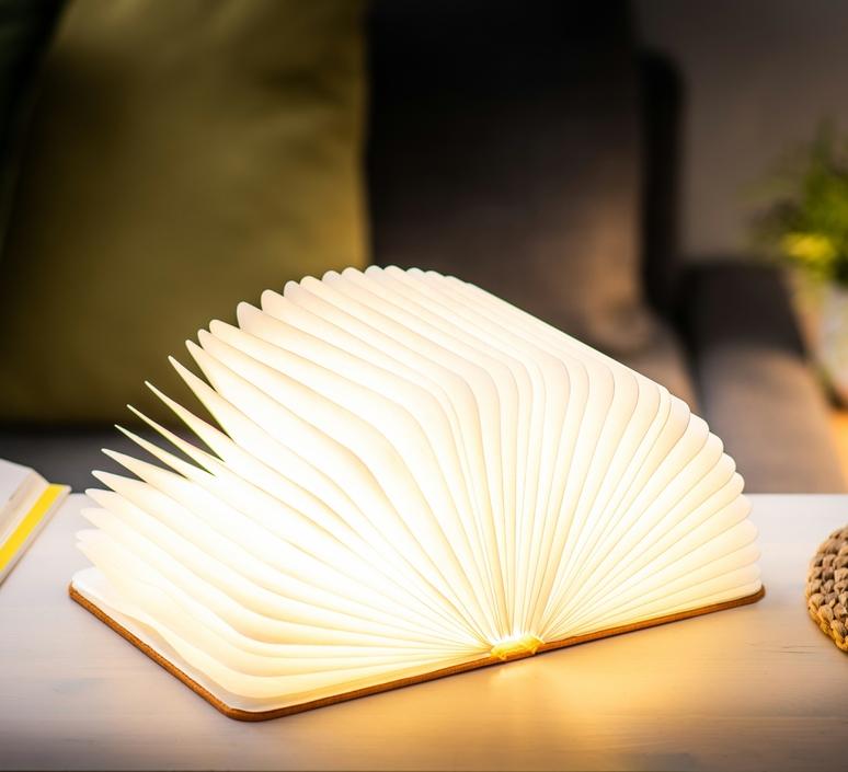 Smart book large studio gingko baladeuse portable lamp  gingko gk12f oe1  design signed nedgis 96710 product
