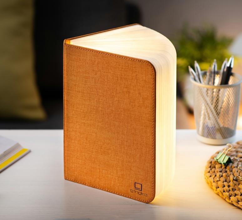 Smart book large studio gingko baladeuse portable lamp  gingko gk12f oe1  design signed nedgis 96711 product
