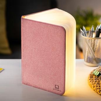 Baladeuse smart book large rose l17cm h21 5cm gingko normal